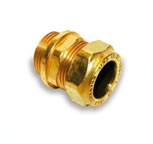 Compression Male Straight Coupling