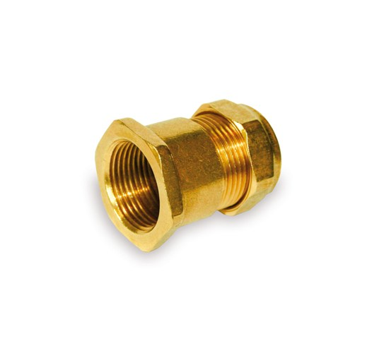 Compression Female Straight Coupling