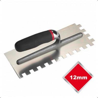 Stainless Steel Adhesive Trowel 12mm