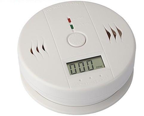 Carbon Monoxide Alarm LCD Display