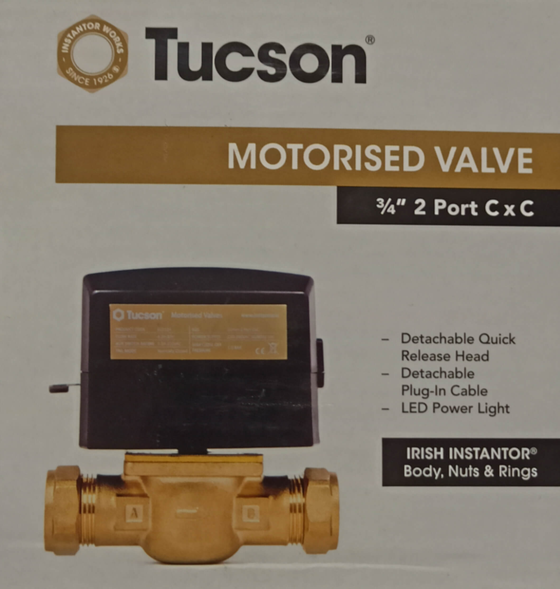 tucson 34 motorised valve